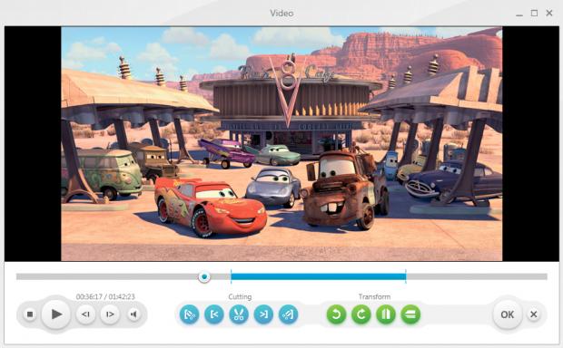 Фрагмент программы Freemake Video Converter.