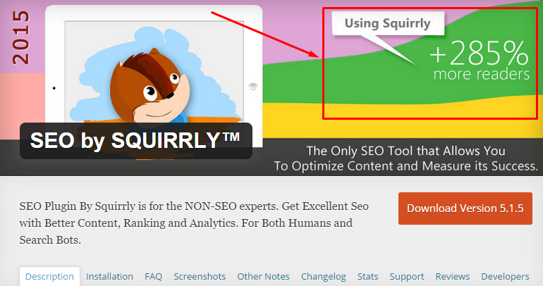 Squirrly - SEO плагин для WordPress