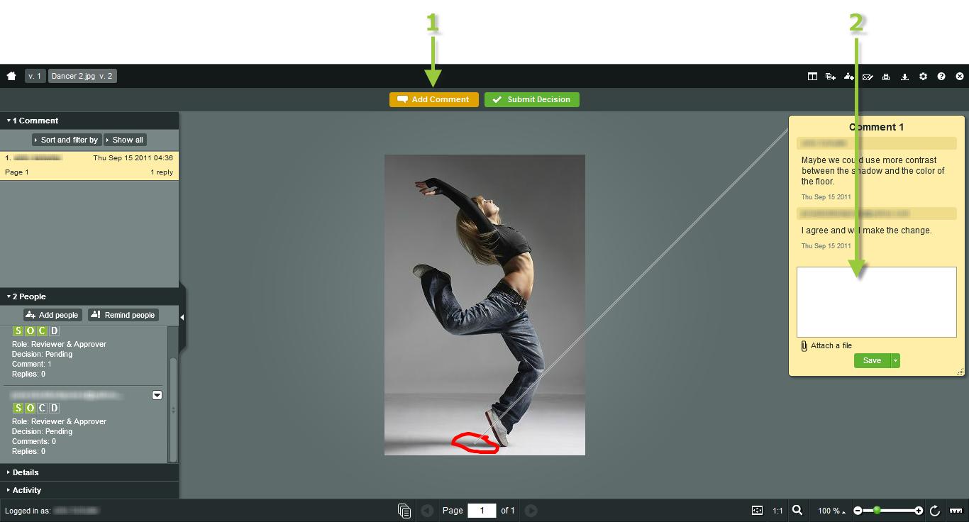 ProofHQ – приложение, позволяющее делиться документами / дизайнами / прототипами