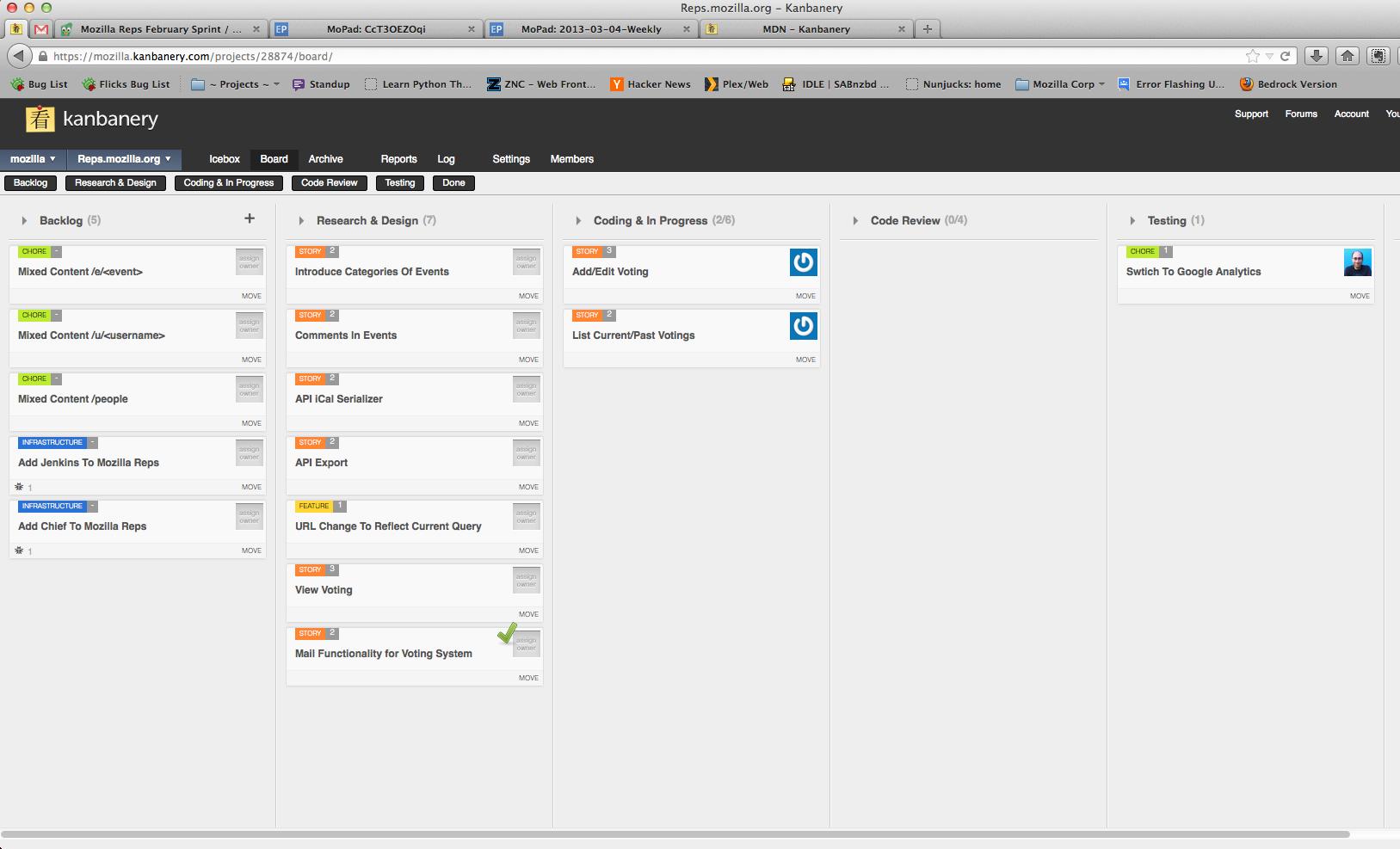 Kanbanery – популярный сервис для управления проектами с помощью Kanban доски.