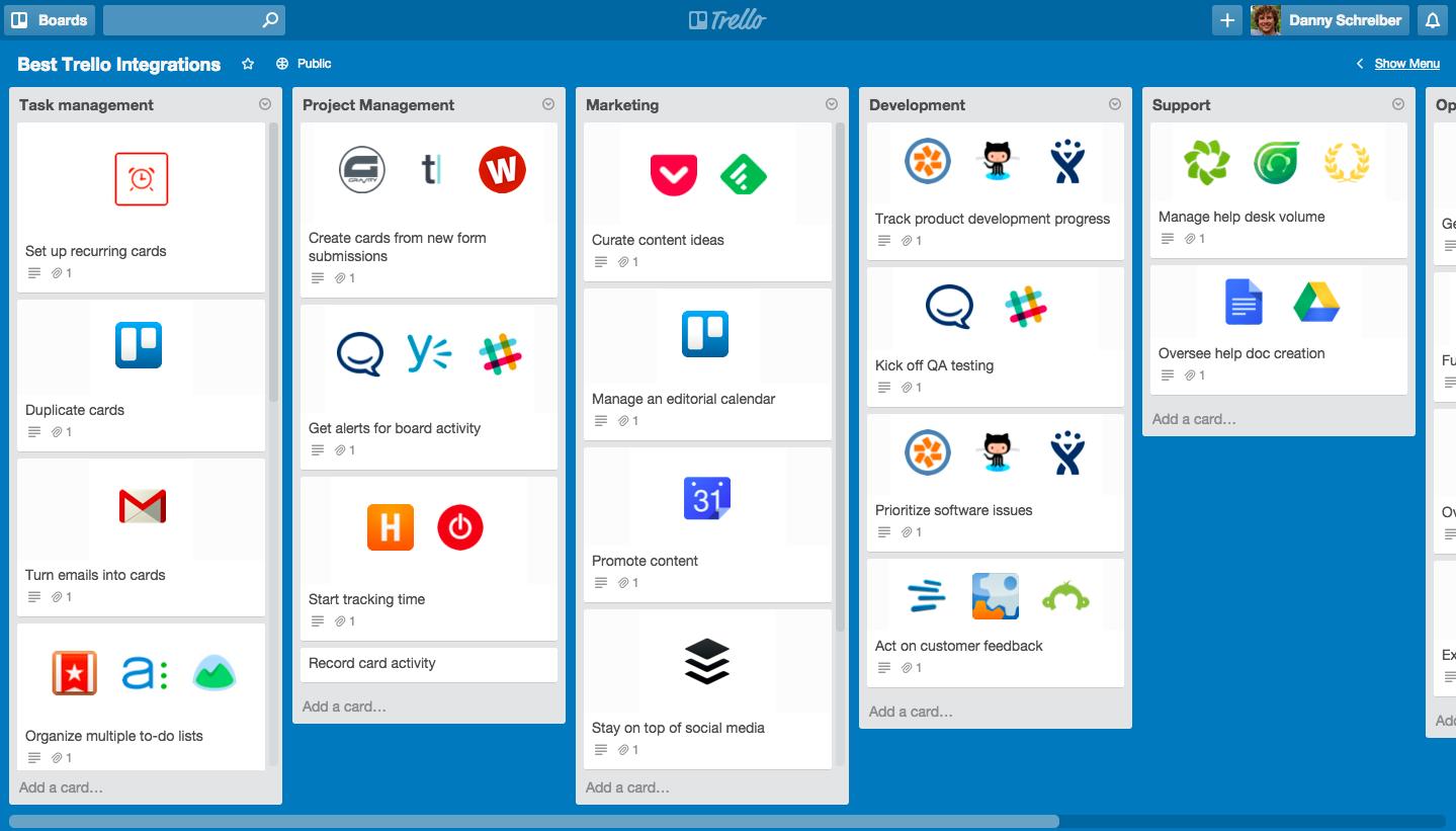 Trello – популярный онлайн-сервис, позволяющий систематизировать ваши задачи, to-do листы, обсуждения и идеи на одной доске.